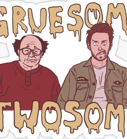 Gruesome Twosome  Sticker
