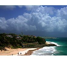 Crane Beach, Barbados Photographic Print