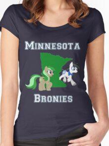 Minnesota Bronies Women's Fitted Scoop T-Shirt