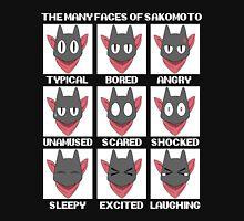 The many faces of Sakomato Unisex T-Shirt