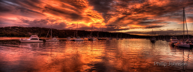 Burn For You - Newport, Sydney Australia - The HDR Experience by Philip Johnson