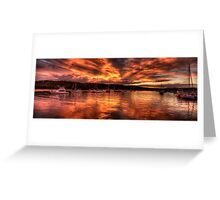 Burn For You - Newport, Sydney Australia - The HDR Experience Greeting Card