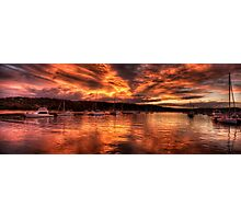 Burn For You - Newport, Sydney Australia - The HDR Experience Photographic Print