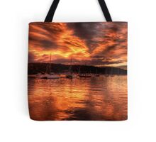 Burn For You - Newport, Sydney Australia - The HDR Experience Tote Bag