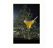 Chill out the spicy drink Art Print