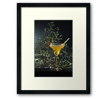 Chill out the spicy drink Framed Print