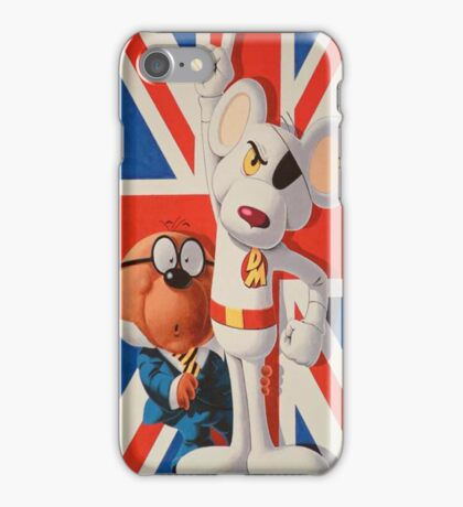 Dangermouse iPhone case iPhone Case/Skin