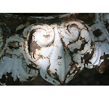 Rusty Heart Photographic Print