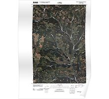 USGS Topo Map Washington State WA Frosty Meadow 20110413 TM Poster