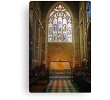 Altar—Saint David's Cathedral, Hobart Canvas Print