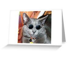 Yoko Kitteh Greeting Card