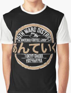 Tokyo ghoul Anteiku Coffee Shop Graphic T-Shirt