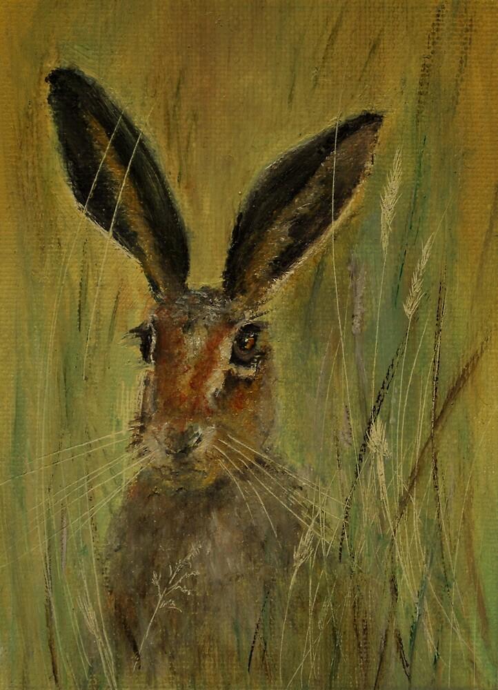 Brown Hare by Lynn Hughes