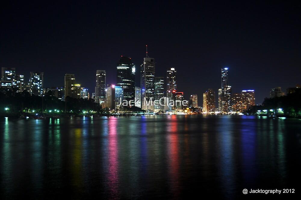 Brisbane City at Night by Jack McClane
