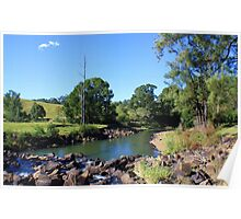 oxley river - tyalgum ... Poster