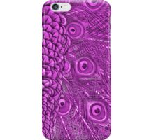 Mom and Baby matching Pink Peacock Twilight Qtees iPhone Case/Skin