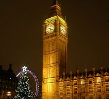 Big Ben ticks Goodnight by Mui-Ling Teh