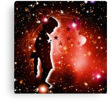 To the stars Canvas Print