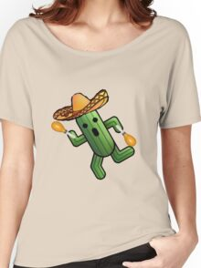 Musical Cactuer  Women's Relaxed Fit T-Shirt