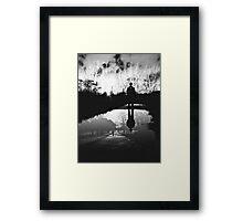 Subjective reality  Framed Print