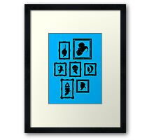 Stage Select Framed Print