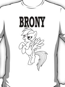 BRONY - RD (White) T-Shirt