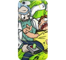 Rick and Morty - Portals iPhone Case/Skin
