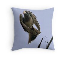 Ugly Birds Can Fly And Look Good ! Throw Pillow