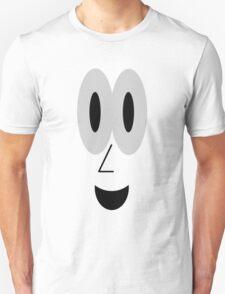 Smiling Cartoon Face Tee T-Shirt