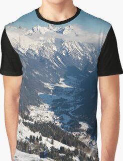 St Anton's Valley Graphic T-Shirt