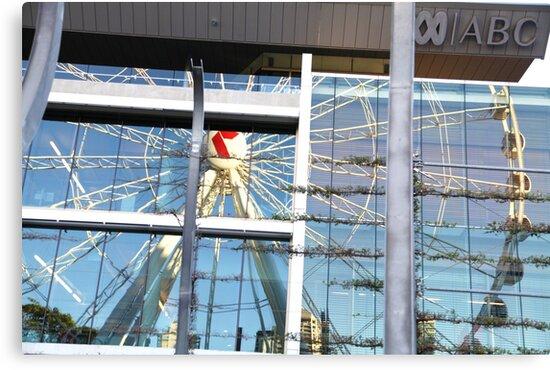 The Brisbane Eye Reflection by MiloAddict