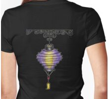Paper Lantern 3 Womens Fitted T-Shirt
