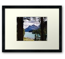 View From Spirit Island Framed Print
