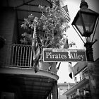Black & White Pirates Alley by mulith