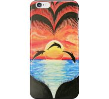 My Happy Place - Sunset Ocean iPhone Case/Skin