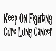 Lung Cancer Baby Tee
