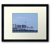 Fort Pierce North Jetty Framed Print
