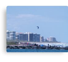 Fort Pierce North Jetty Canvas Print