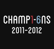 Manchester City Champions 2012 ( dark tee ) by weRsNs