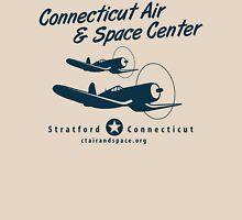 Connecticut Air & Space Center Corsair Design (Blue)  Unisex T-Shirt