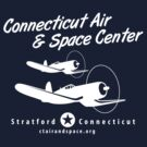 Connecticut Air & Space Center Corsair Design (White)  by warbirdwear