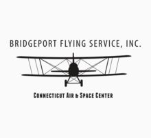 Bridgeport Flying Service Inc. (Black) Kids Clothes