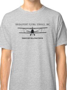 Bridgeport Flying Service Inc. (Black) Classic T-Shirt