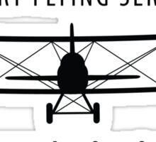Bridgeport Flying Service Inc. (Black) Sticker