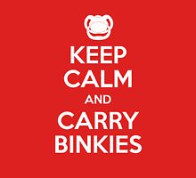 Keep Calm and Carry Binkies Unisex T-Shirt