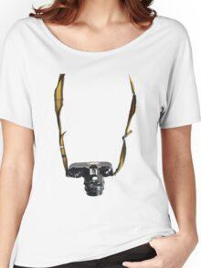 Nikon EM Camera T-Shirt Women's Relaxed Fit T-Shirt