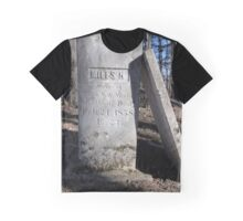 Tombstone of Miles H Graphic T-Shirt