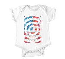 Abstract America One Piece - Short Sleeve