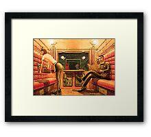 First Class Framed Print