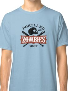 Portland Zombies Deadball Crest Classic T-Shirt